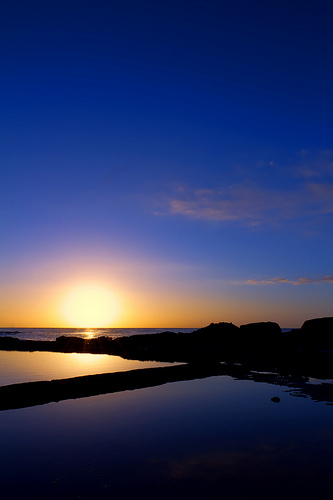 Boxing Day Sunrise - South Beach, Wollongong